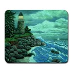 Jerrys Lighthouse -  Ave Hurley - Wrap Canvas Version Large Mousepad