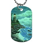 Jerrys Lighthouse -  Ave Hurley - Wrap Canvas Version Dog Tag (One Side)
