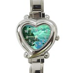 Jerrys Lighthouse -  Ave Hurley - Wrap Canvas Version Heart Italian Charm Watch