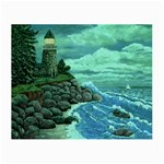Jerrys Lighthouse -  Ave Hurley - Wrap Canvas Version Glasses Cloth (Small)