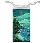 Jerrys Lighthouse -  Ave Hurley - Wrap Canvas Version Jewelry Bag