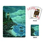 Jerrys Lighthouse -  Ave Hurley - Wrap Canvas Version Playing Cards Single Design