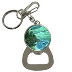 Jerrys Lighthouse -  Ave Hurley - Wrap Canvas Version Bottle Opener Key Chain