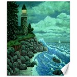 Jerrys Lighthouse -  Ave Hurley - Wrap Canvas Version Canvas 8  x 10