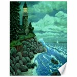 Jerrys Lighthouse -  Ave Hurley - Wrap Canvas Version Canvas 12  x 16