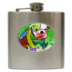 Pug Hip Flask by Siebenhuehner