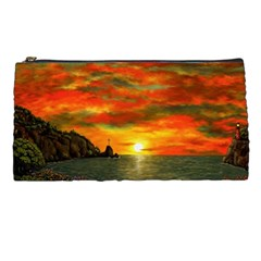 Alyssa s Sunset By Ave Hurley Artrevu   Pencil Case by ArtRave2