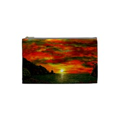 Alyssa s Sunset By Ave Hurley Artrevu   Cosmetic Bag (small) by ArtRave2