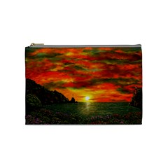 Alyssa s Sunset By Ave Hurley Artrevu   Cosmetic Bag (medium) by ArtRave2