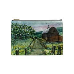 amish Apple Blossoms  By Ave Hurley Of Artrevu   Cosmetic Bag (medium) by ArtRave2
