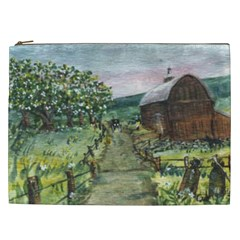 amish Apple Blossoms  By Ave Hurley Of Artrevu   Cosmetic Bag (xxl) by ArtRave2