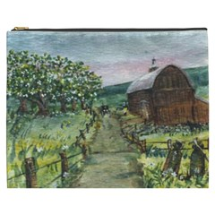 amish Apple Blossoms  By Ave Hurley Of Artrevu   Cosmetic Bag (xxxl) by ArtRave2