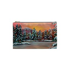 jane s Winter Sunset   By Ave Hurley Of Artrevu   Cosmetic Bag (small) by ArtRave2