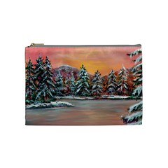 jane s Winter Sunset   By Ave Hurley Of Artrevu   Cosmetic Bag (medium) by ArtRave2