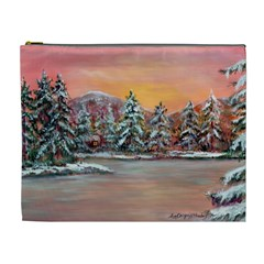 jane s Winter Sunset   By Ave Hurley Of Artrevu   Cosmetic Bag (xl) by ArtRave2