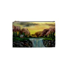 Brentons Waterfall   Ave Hurley   Artrave   Cosmetic Bag (small) by ArtRave2