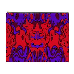 Abstract Cosmetic Bag (xl) by Siebenhuehner