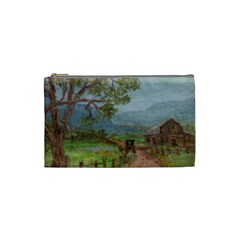 amish Buggy Going Home  By Ave Hurley Of Artrevu   Cosmetic Bag (small) by ArtRave2