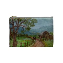 amish Buggy Going Home  By Ave Hurley Of Artrevu   Cosmetic Bag (medium) by ArtRave2