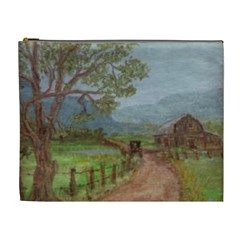 amish Buggy Going Home  By Ave Hurley Of Artrevu   Cosmetic Bag (xl) by ArtRave2