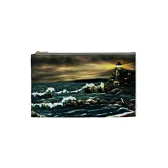 bridget s Lighthouse   By Ave Hurley Of Artrevu   Cosmetic Bag (small) by ArtRave2