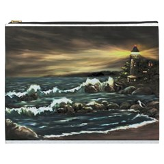 bridget s Lighthouse   By Ave Hurley Of Artrevu   Cosmetic Bag (xxxl) by ArtRave2