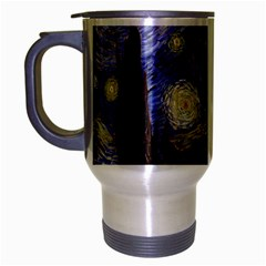Vincent Van Gogh Starry Night Travel Mug (silver Gray)