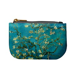 Vincent Van Gogh Blossoming Almond Tree Coin Change Purse by MasterpiecesOfArt