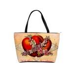 Vintage Valentine Hearts Classic Shoulder Handbag