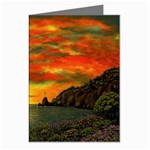 Alyssa s Sunset -Ave Hurley ArtRevu.com- Greeting Card
