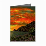 Alyssa s Sunset -Ave Hurley ArtRevu.com- Mini Greeting Card