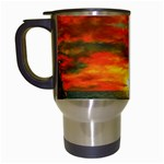 Alyssa s Sunset -Ave Hurley ArtRevu.com- Travel Mug (White)