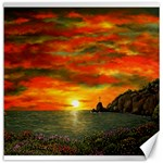 Alyssa s Sunset -Ave Hurley ArtRevu.com- Canvas 20  x 20