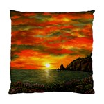 Alyssa s Sunset -Ave Hurley ArtRevu.com- Standard Cushion Case (Two Sides)