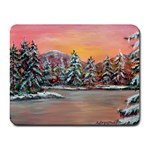 Jane s Winter Sunset -AveHurley ArtRevu.com- Small Mousepad
