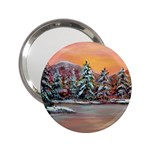 Jane s Winter Sunset -AveHurley ArtRevu.com- 2.25  Handbag Mirror