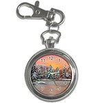 Jane s Winter Sunset -AveHurley ArtRevu.com- Key Chain Watch