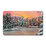 Jane s Winter Sunset -AveHurley ArtRevu.com- Magnet (Rectangular)