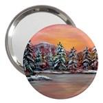 Jane s Winter Sunset -AveHurley ArtRevu.com- 3  Handbag Mirror