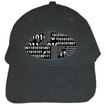 Beauty of Binary Black Baseball Cap