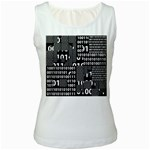 Beauty of Binary Women s Tank Top (White)