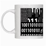 Beauty of Binary White Coffee Mug