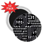 Beauty of Binary 2.25  Button Magnet (10 pack)