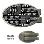 Beauty of Binary Money Clip (Oval)