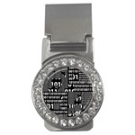 Beauty of Binary Money Clip (CZ)