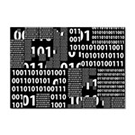Beauty of Binary A4 Sticker