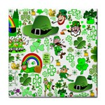 St Patrick s Day Collage Ceramic Tile