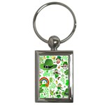 St Patrick s Day Collage Key Chain (Rectangle)