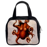 Here There Be Monsters Classic Handbag (Two Sides)