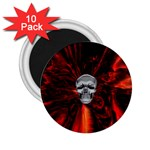 Skeleton in Blood Bath 2.25  Magnet (10 pack)